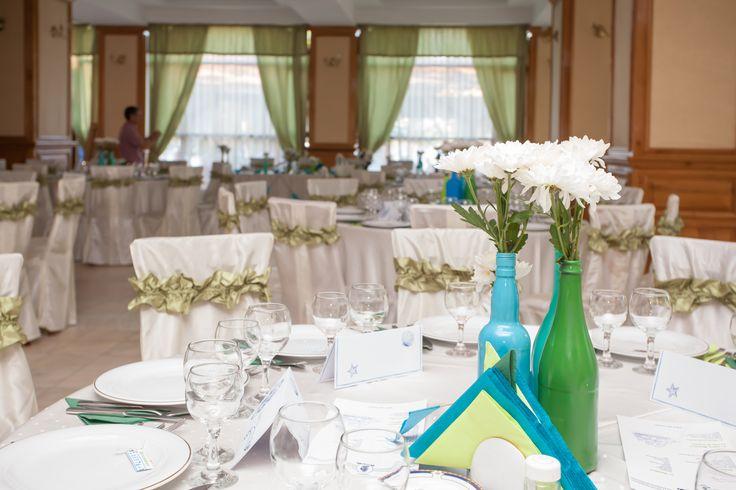 Nautical guest table decor homemade (diy)