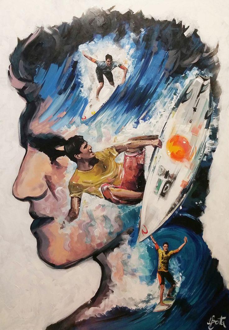 Gabriel Media - Acrylic on Canvas 90x130cm