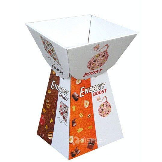 Eco-friendly Customized Cardboard Retail Dump Bins Display