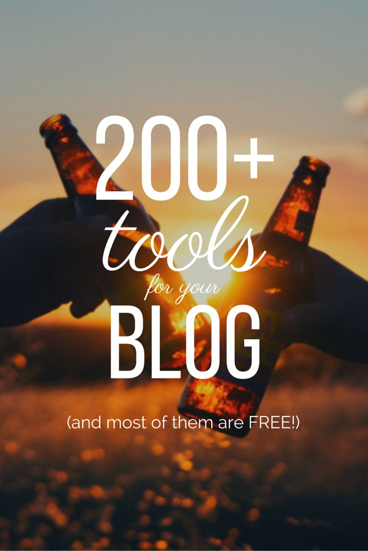 This guide is an incredible resource for your blogging arsenal. Over 200 tools and resources with direct links to the sites to get them! YES! Get yours and use it for your blog, social media efforts, or just pure productivity.