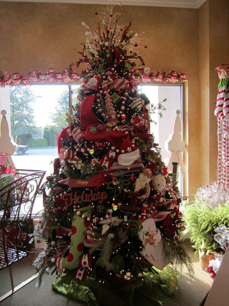 Santa tree hohoho kb photo christmas decorating ideas for Pinterest christmas decorations