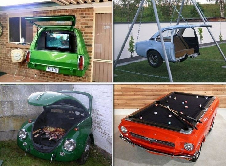 Repurposed Car Parts