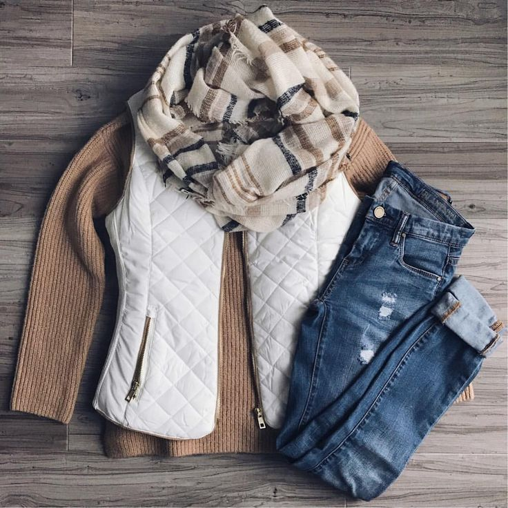 Beige sweater, white vest, cheetah scarf or cream and white scarf, Hudson's, nude bootirs