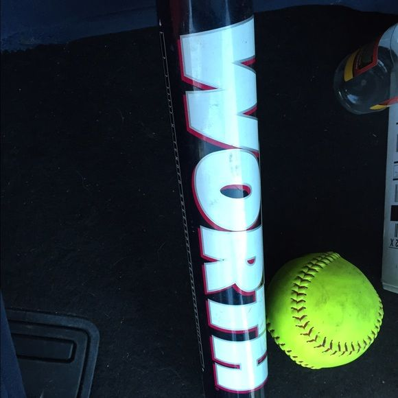 "Worth Softball Bat Worth Softball Bat 31"" 18 oz Worth  Other"