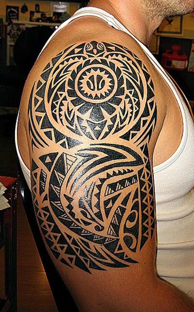 Pin Hawaiian Tribal Tattoos Designs And Ideas on Pinterest