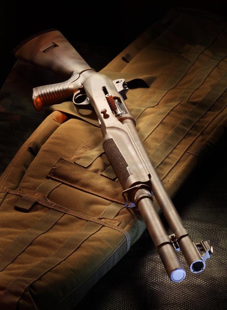 Benelli M4 tactical shotgun - http://www.RGrips.com  #SwatExchange www.SwatExchange.com