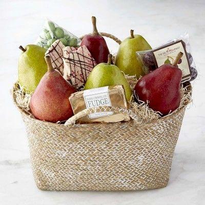 Fruit Gift Basket #williamssonoma
