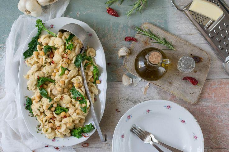 Orecchiette integrali alla crema di ceci della Puglia