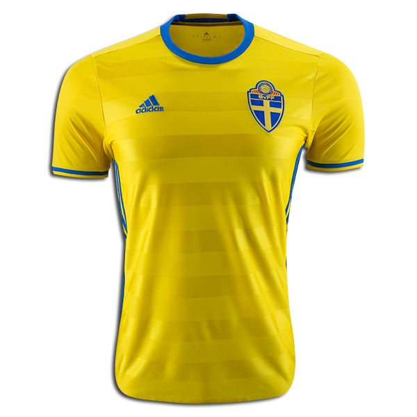 76f24244b Alexander Milosevic 13 2018 FIFA World Cup Sweden Home Soccer Jersey ...