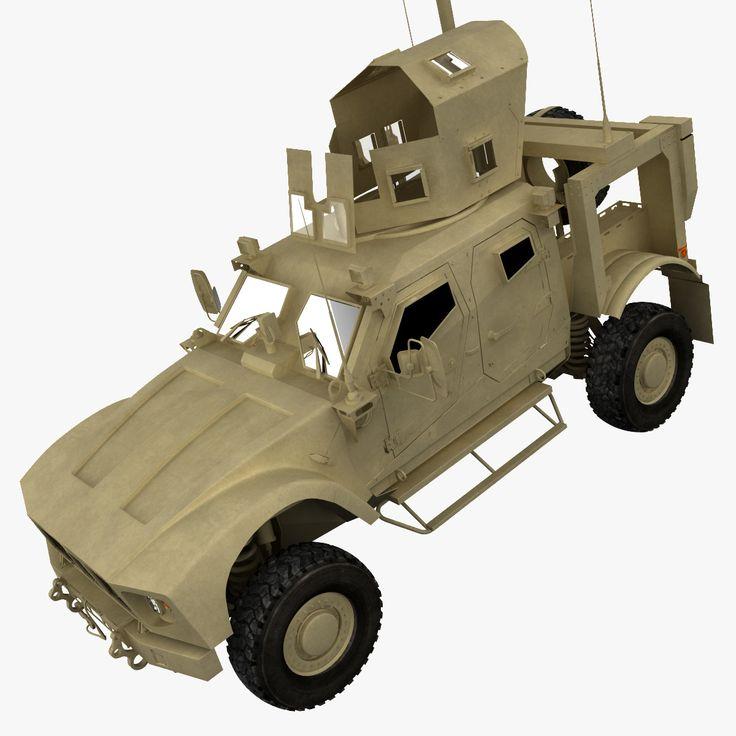 3D Model Oshkosh M Atv V2 - 3D Model