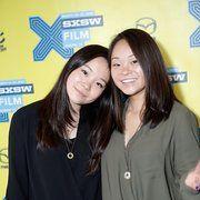 Samantha Futerman and Anaïs Bordier at Twinsters (2015)