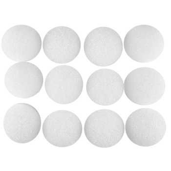 """2"""" - 12 Pieces Styrofoam Ball. $5.49 and be sure to download the 40% off coupon! Hobby Lobby."""