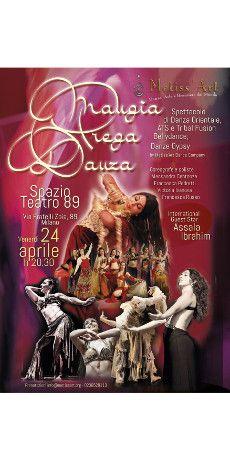 #Milano #città #internazionale, crocevia di #culture e di #popoli...quest'anno più che mai!Noi #celebriamo con uno #spettacolo di #Danze #Etniche, la nostra #specialità! Danze del #Mediterraneo e oltre...Danza #Orientale, #Tribal, #Flamenco Scalzo, Danze #Gitane.. con #ospiti speciali da tutto il #mondo! Per #nutrire #corpo #mente e #spirito con la #gioia della danza!! http://www.metissart.org/news_article.php?id=495