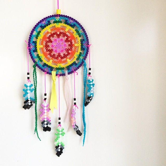 162 best dreamcatcher perler beads images on pinterest for Dreamcatcher beads meaning