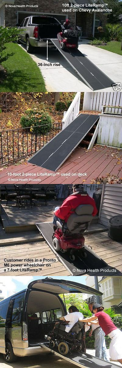 Access Ramps: 10 Wheelchair Ramp | Scooter Ramp | Literamp Portable Handicap Ramps BUY IT NOW ONLY: $299.0