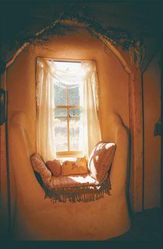 Cob house interior                                                                                                                                                                                 More