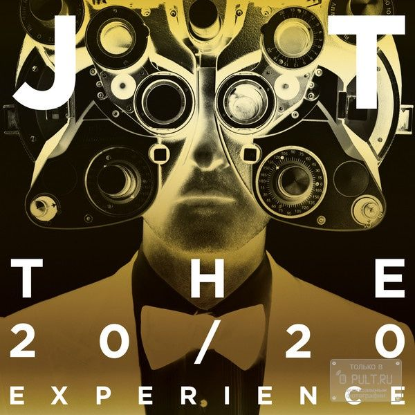 Justin Timberlake THE 20/20 EXPERIENCE - PART 1 & PART 2 THE COMPLETE EXPERIENCE (W1190)