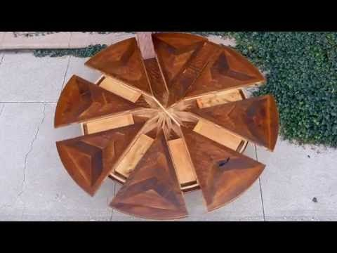 7 best expanding round tables images on Pinterest | Round tables ...
