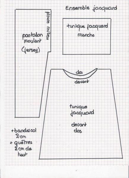 Tuto tunique- pantalon