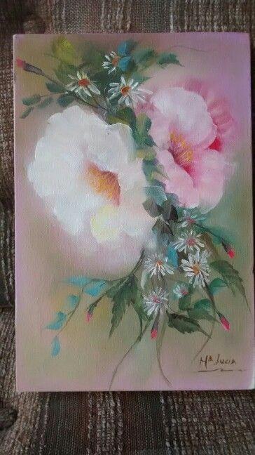 Disfrutando de nuevo al pintar con oleo!!!!!!!