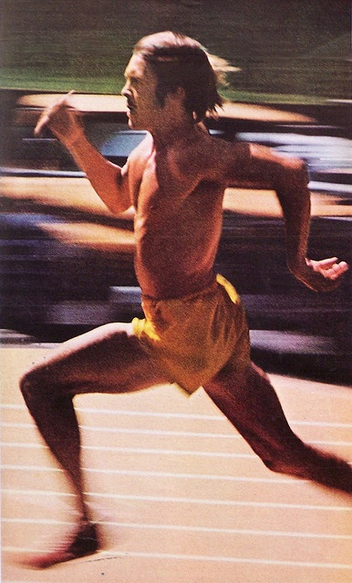 1972 Life Magazine photo - Steve Prefontaine at Hayward Field, Eugene, Or
