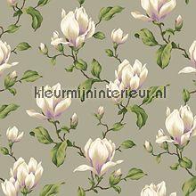 Lavender Dream 322351 van Eijffinger magnolia tak behang bij kleurmijninterieur.nl
