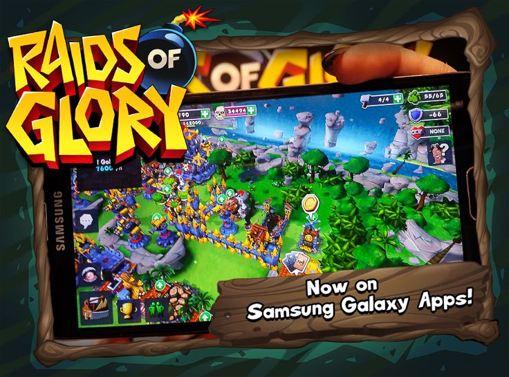 Raids of Glory is available for iOS - and it's now also on Samsung Galaxy Apps!