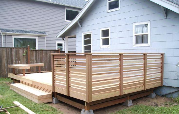 Best Deck Railing Modern Deck Deck Railings Wood Deck Railing 400 x 300
