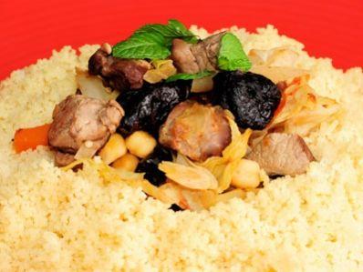 Receta | Cuscús de cordero con verduras - canalcocina.es