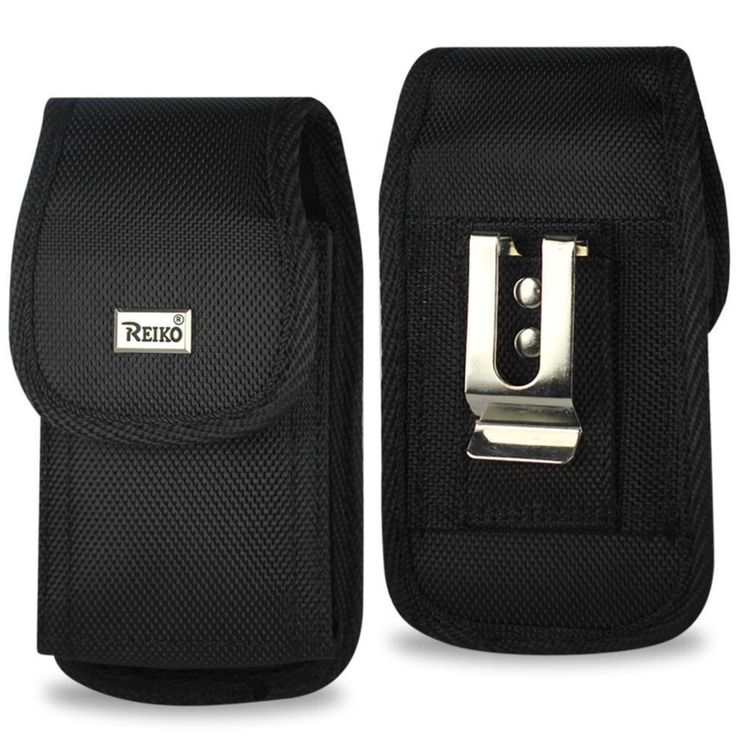 Reiko Vertical Rugged Pouch Motorola Droid Xtreme Mb810- Droid Shadow-Milestone X- Me811 Plus Black Cell Phone W. Cover