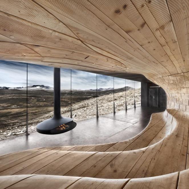Wood house