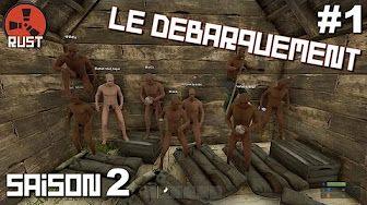 rust gameplay fr ep 1 multi - YouTube