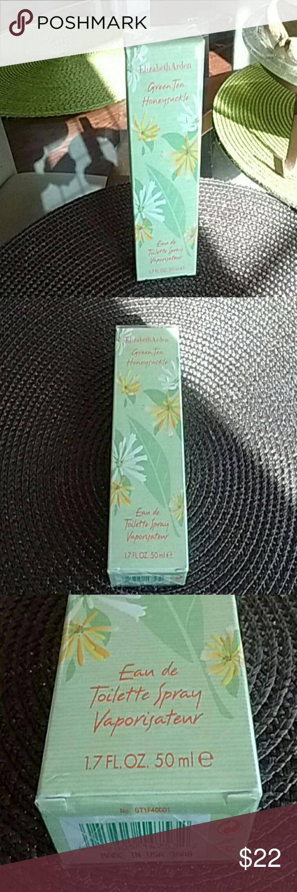 Green tea honeysuckle eau de toilette Spray. Never opened. 2015 Xmas gift. 1.7 FL oz Or 50ml. Elizabeth Arden Other