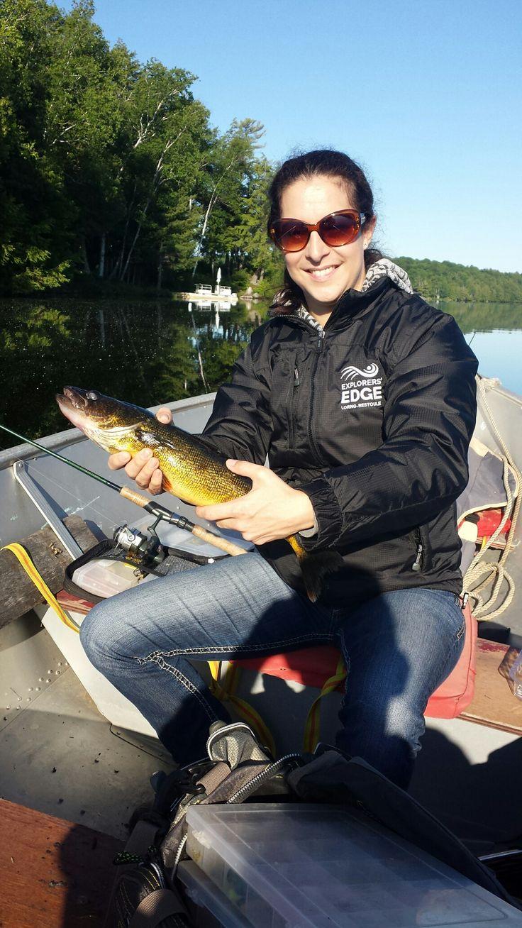 Catching Pickerel/walleye