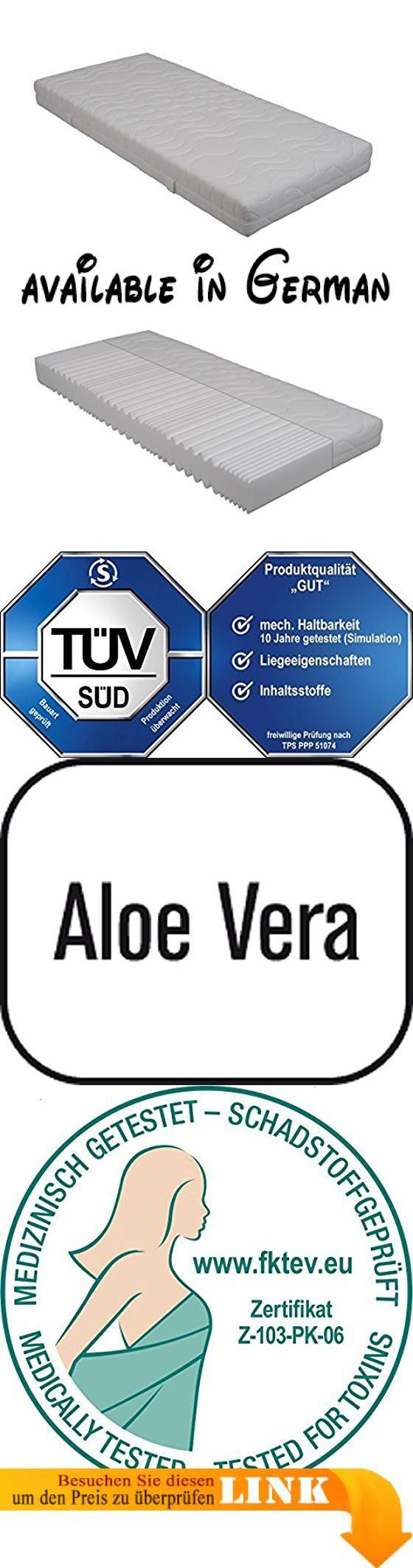 """B0171QF49W : Interbett M300373 orthopädische 9-Zonen Schaum-Matratze Double DeLuxe 140 x 200 cm H2 TÜV """"gut"""" getestet Baumwoll-Doppeltuch Höhe 20 cm 2 Personen bis 160 kg. Orthopädische 9-Zonen-Schaummatratze für höchsten Komfort. Vom TÜV Süd mit """"gut"""" bewertet (Haltbarkeit Liegeeigenschaften und Inhaltsstoffe"""" - darauf können Sie sich verlassen. Der spezielle 9-Zonen-Kernschnitt mit Schulter- und Beckenkomfortzone ermöglicht ein perfektes Einsinken des Körpers"""