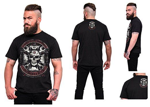 West Coast Choppers -  T-shirt - Uomo nero Large