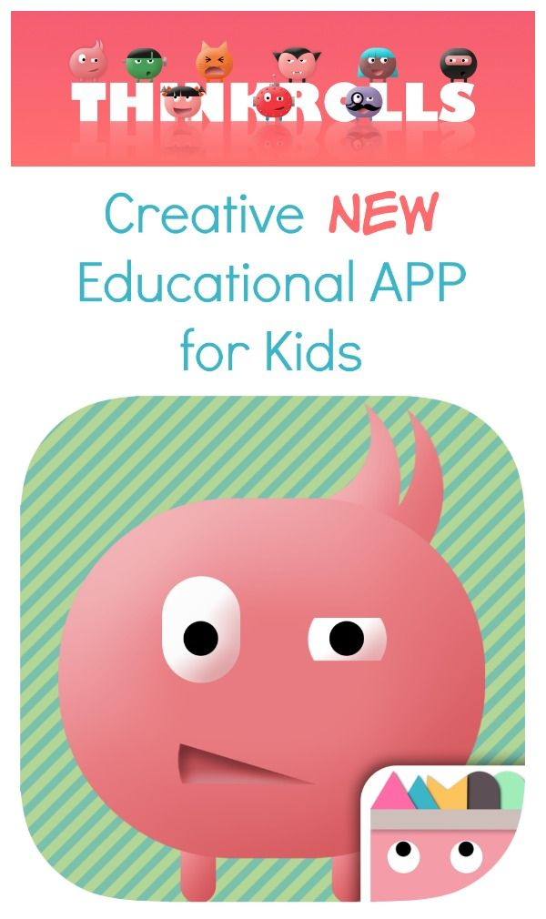 New Educational App for Kids~Thinkrolls: Creative new problem solving logic app for kids #sp