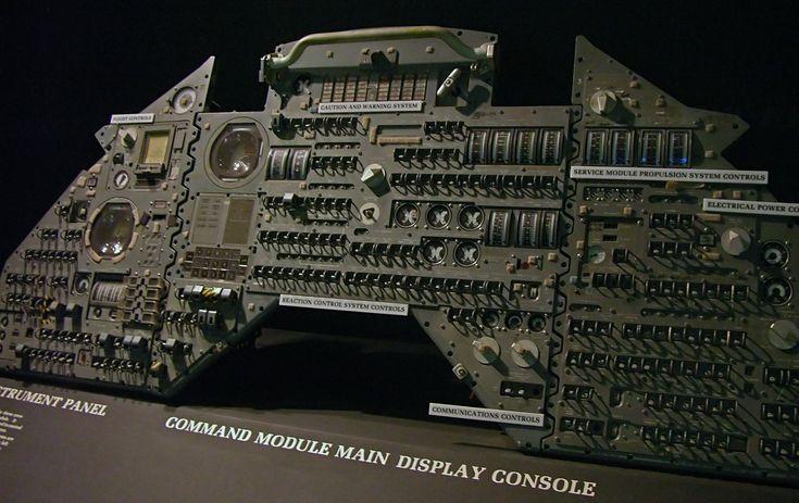 Apollo Guidance Computer control panel