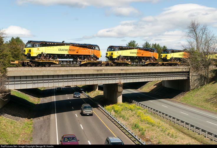 RailPictures.Net Photo: Colas 70814 Colas Rail Class 70 PowerHaul at Inlet, Virginia by George W. Hamlin
