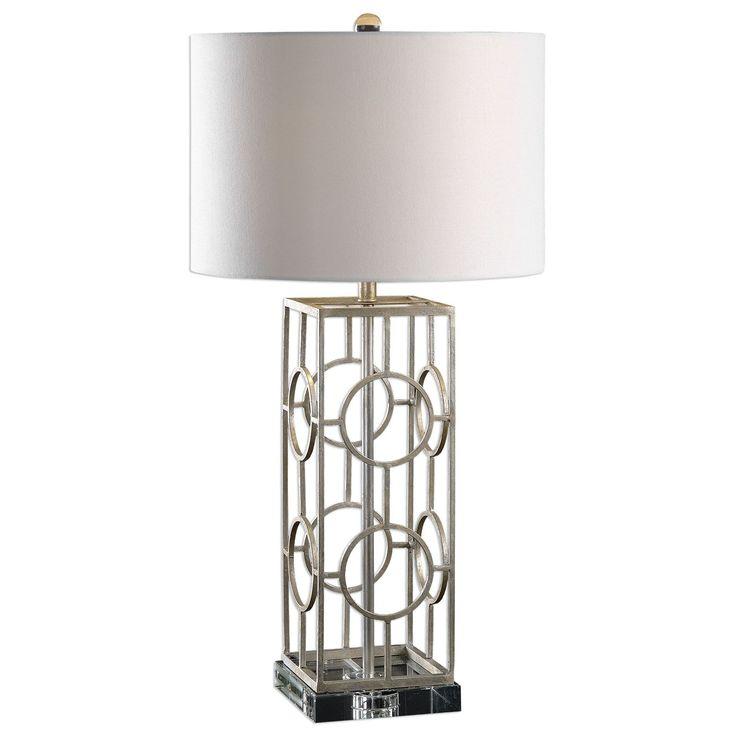 Mezen Silver Table Lamp by Uttermost