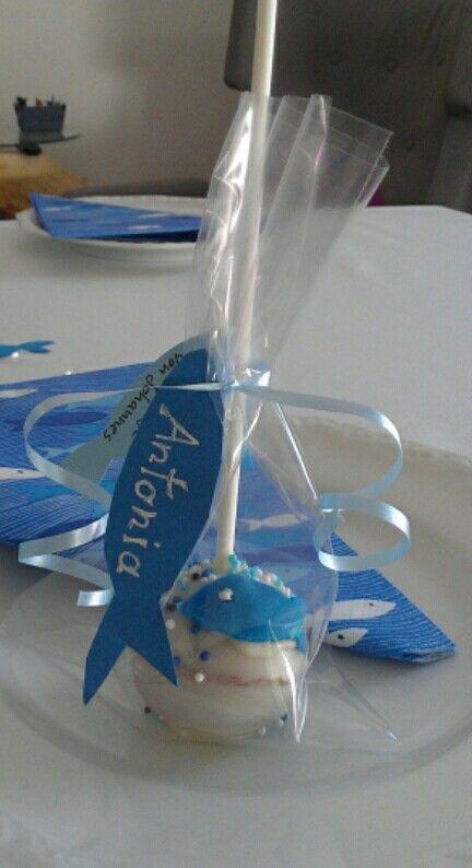 Cakepops für die Taufe