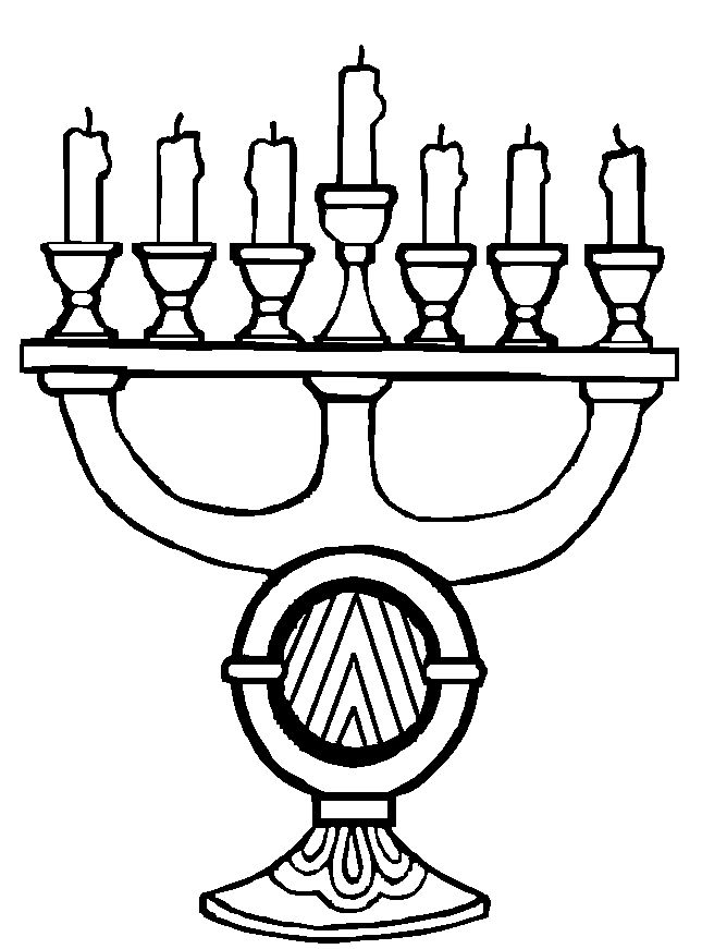 Beautiful Candles For Kwanzaa Party Coloring Pages Kids Printable