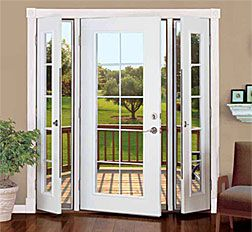 Vented Patio Doors--because what's the point of a window that won't open?