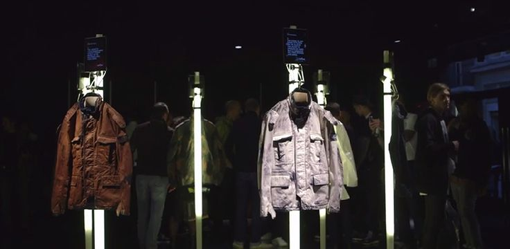 Stone Island AW'014'015_ Hand Painted Camouflage In Store London Event _Video 24.9.2014   http://youtu.be/R2Nb7arhUVQ?list=UUJF7HLq9VuhWroH4qJUZuQQ