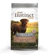 Nature's Variety Instinct LID Turkey 4.4LB Dry Dog Food