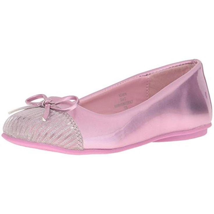 Kensie Girl Size 1 Pink Little Kid / Girls Ballet Flats Shoes KG24516 $37.99 #KensieGirl #Flats #Everyday
