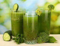 Three Tasty Green Juice Recipes... super good, don't be afraid.