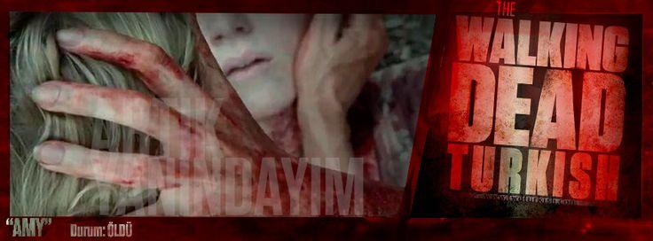"""""""AMY"""" Andrea: Amy Özür Dilerim. Yanında Olamadığım İcin Özür Dilerim. Beraber Daha Fazla Zamanımız Olur Diye Düşündüm Hep. Artık Yanındayım Amy , Seni Seviyorum. Admin: Hangimiz Doğum Gününde Ölmek İster Ve Hangimiz Kardeşine Doğum Günü Hediyesi Olarak Kafasına Bir Mermi Sıkıp Seni Seviyorum Demek İster. İşte The Walking Dead i Bana Sevdiren 1x4 ün devamında 1x5 de Aynen Böyle Oldu Herkes Gibi Andrea da Feda Ettikleri İle Yaşamaya Devam Edecek En Azından 3. Sezonun Sonuna Kadar.."""