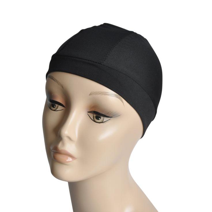 5 قطعة/الوحدة أسود دنة غطاء القبة لصنع الباروكة سنود نايلون ستريك لمة cap عالية و حجم ضيقة النطاق الكامل لتتطابق لمة كاب
