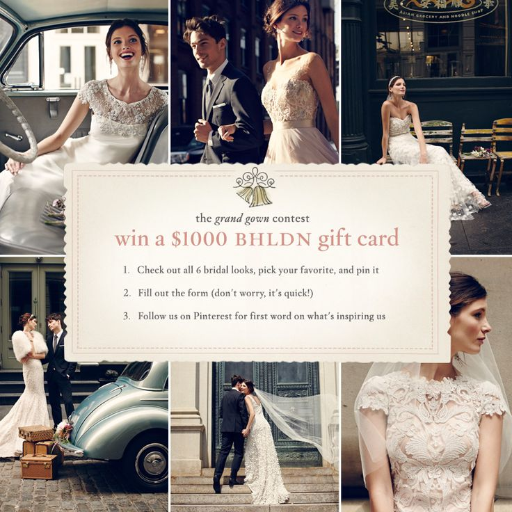 Closed The Grand Gown Contest Enter For Your Chance To Win A 1000 Bhldn Gift Card Towards Wedding Of Dreams Click Through This
